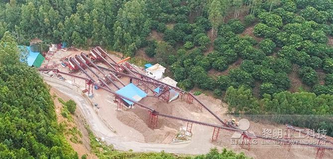 廣東云浮河卵石制砂EPC項目