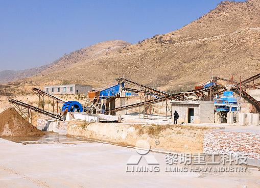 四川彭州河卵石制砂生產線