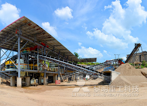 廣東梅州河卵石制砂生產線