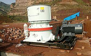 山西吕梁铝矿石破碎生产
