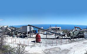 俄罗斯克里米亚石灰石加工项目