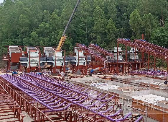 广东云浮河卵石制砂EPC项目