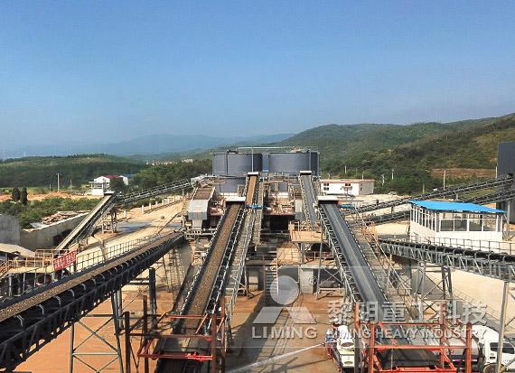 安徽池州东至河卵石制砂EPC项目