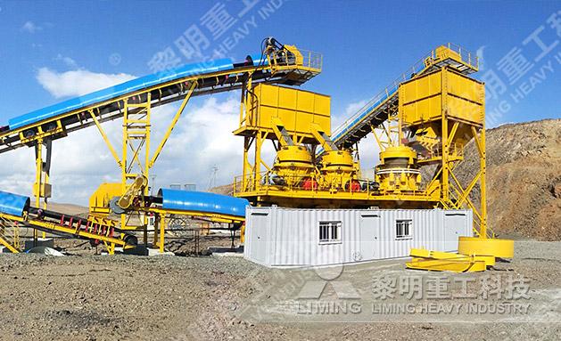 蒙古鐵礦破碎生產線