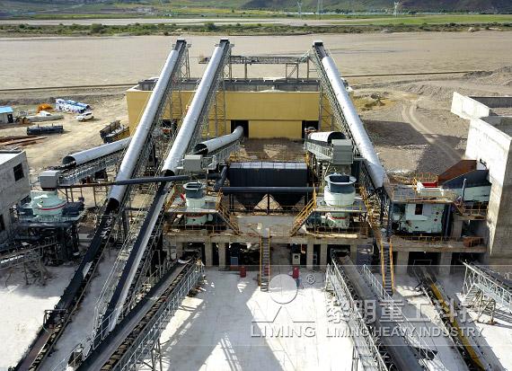 西藏拉萨河卵石制砂EPC项目