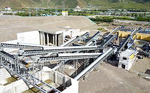 西藏拉薩河卵石制砂EPC項