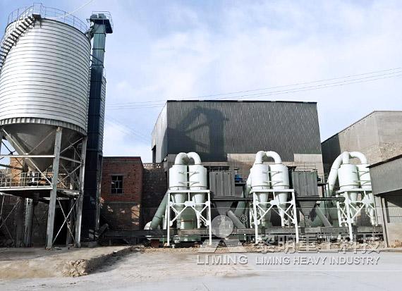 内蒙古乌海脱硫石灰石粉制备项目